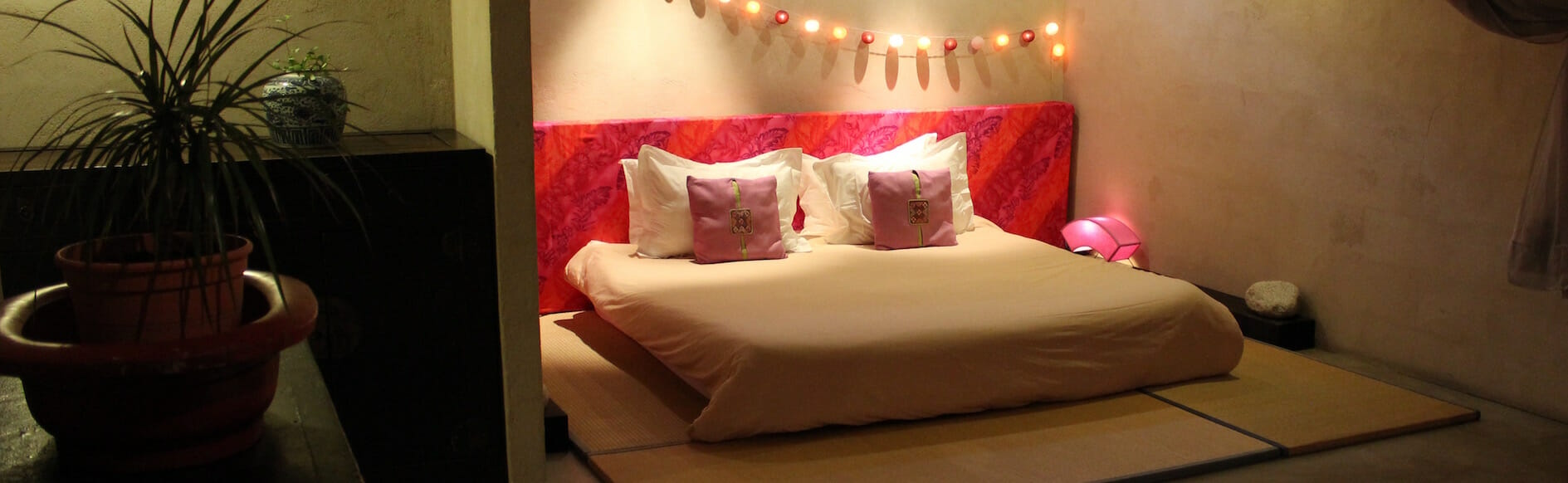 Habitación grande - cama